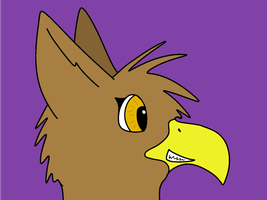 Gryphon Animation by DragonDuckling