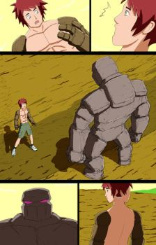 Mike into Golem TF Comic page 10 by whiteguardian