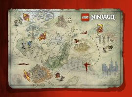 The world of Ninjago by gorillazfan666