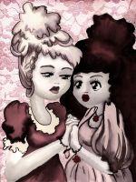 Rose Red and Rose White by fritchie