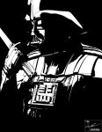 Darth Vader - Contemplation (No Tone) by frostdusk