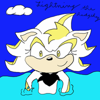 Lightning The Hedgehog by Shadow--Force