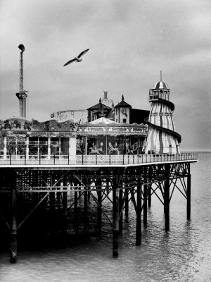 Brighton Pier by kacase
