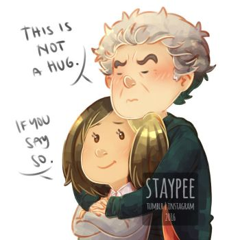 Not a hug by staypee