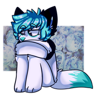 little sad bean - commission by norwegantrash