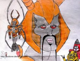 transformers: the two faces of unicron by puticron