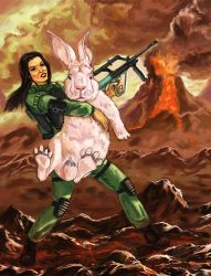 Save a rabbit at any cost by Dolgopolov