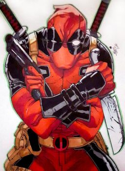 Deadpool by Krystal89IT