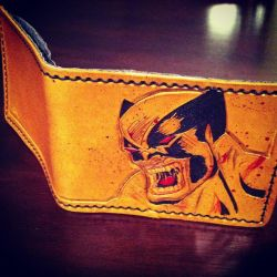 Leather Wolverine Wallet by MerrillsLeather