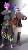 TDAxPDF Fox Spirit Hiroki and Aoi ~Preview and DL~ by Foxy6663-Demon