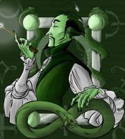 Salazar Slytherin by undeadbovine