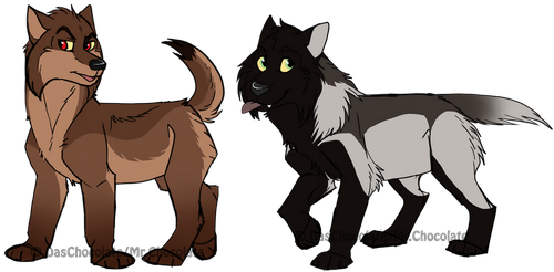 Puppies by DasChocolate