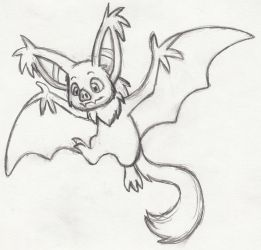 Bat Monstersona sketch by Whimsy-Floof