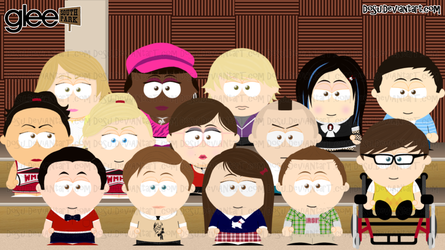 Glee Goin to South Park by Dosu