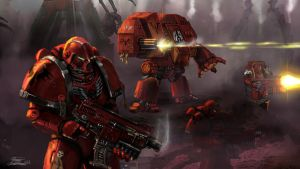 Bloodangels 40K by LordHannu