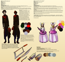 Livy and Messalina Reference Sheet by crazyshiro
