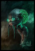 Alien Portrait by TWPictures
