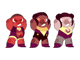 Ruby Adopts! (SET PRICE - OPEN) by ClericlyDepressed