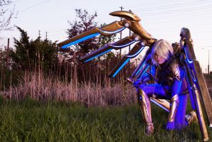 Aether Wing Kayle - Into the Fray by Dragonsnightshade