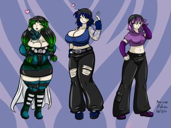 Mei Jun And Julia Colored by Anubis2Pabon288