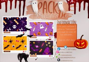 ~.Pack de Patterns #21 {Halloween} by ISirensDesigns