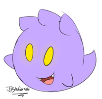 Daily Character #025 - JB the Boo by JBtheShadow