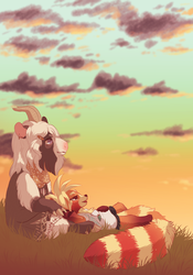 Gay Sunset by Herboreal