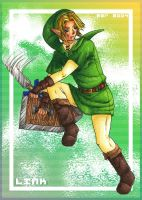 Link Drawing by zarry