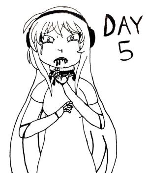 Goretober Day 5: Decapitation by Ask-Tei-the-Yandere