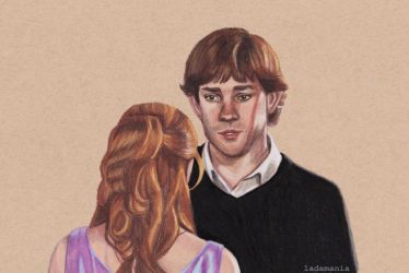 The Confession - Jim and Pam by Ladamania