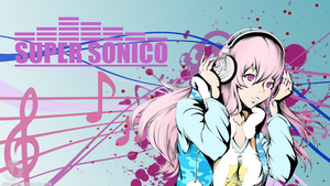 Fan art - Super Sonico by HowlingNeko