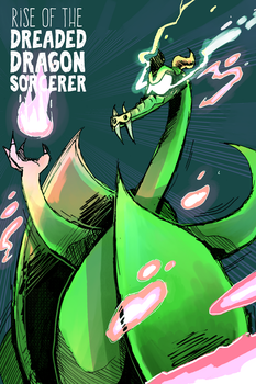 Rise of the Dreaded Dragon Sorcerer (Full Comic)!! by TheUnisonReturns