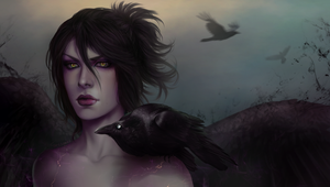 The Raven by CattSparrow