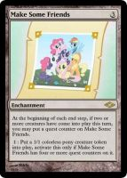 MLP-MTG: Make Some Friends by Shirlendra