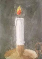 day 3# candle by seth-ravenclaw