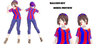 My Balloon Boy Design [No DL] by LilyRoseOfFantasy