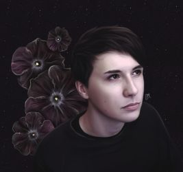 Dan Howell - 'Night' by DraconaMalfoy