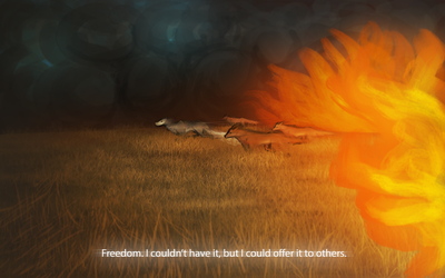 Running For Freedom [Firestorm: Chapter 2| part 2] by DreamerTheTimeLady