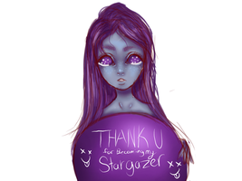 thank you for becoming my Stargazer by Lazyxcat
