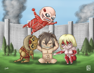 Attack by Titans by Yunsildin