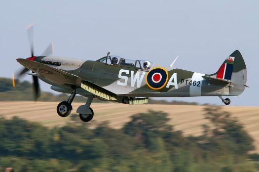 Supermarine Spitfire T.IX (Modified) by Daniel-Wales-Images