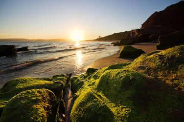 Orcombe Point Sunset by adamlack