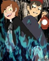 Set Fire to the Woods (Beast Wirt and Bipper) by WhiteBleedingFox