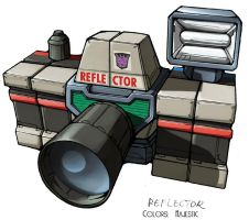 Transformers Reflector camera by VulnePro