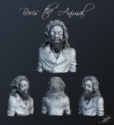 Boris The Animal by aroche