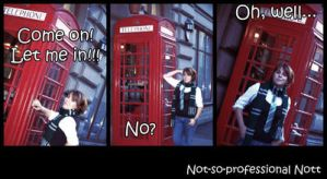 Slytherin and Telephone Booth by nspnott