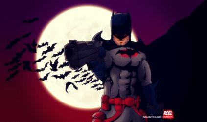 Batman - Thomas Wayne by roelworks