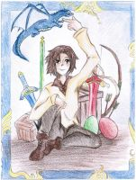Eragon and Saphira by Melody-in-the-Air