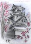 Japanese house by shadowpaintedwhite