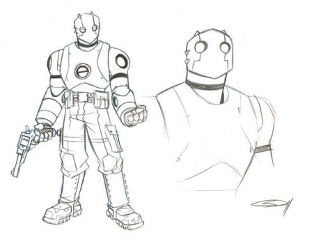 Atomic Robo by sketchmasterskillz